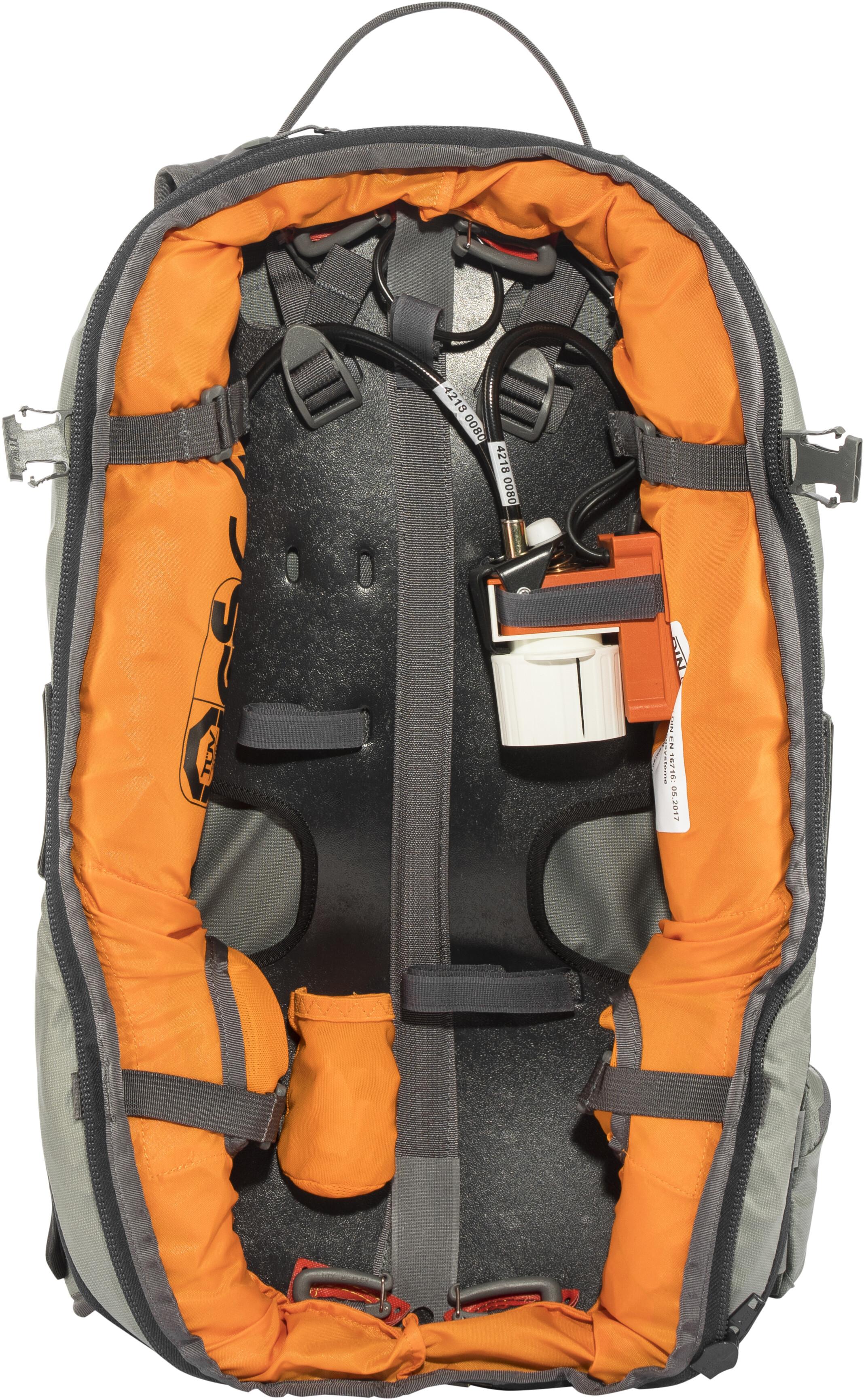 269d8e5e86 ABS P.RIDE Compact Zaino airbag senza pompa nero su Addnature